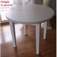 Stół nowoczesny biały fi 90 + 38