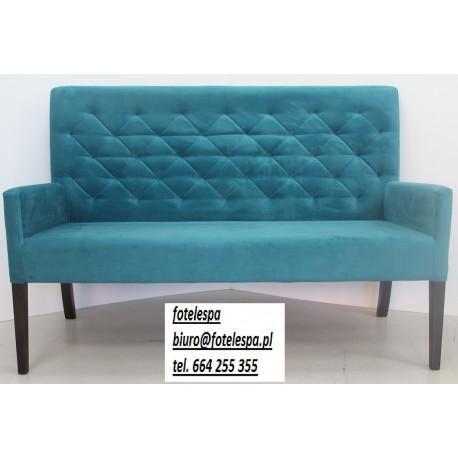 Sofa stylowa, ławka, fotel