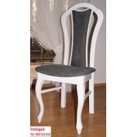 Krzesło ludwik białe- dama