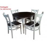 Komplet mebli stół I 4 krzesła