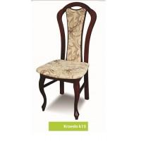 Krzesło ludwik salon jadalnia drewniane glamour K15