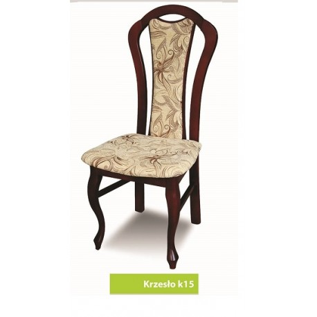 Krzesło ludwik salon jadalnia drewniane glamour