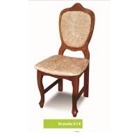 Krzesło ludwik glamour TRON drewniane