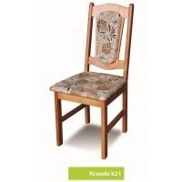 Krzesło drewniane salon jadalnia kuchnia