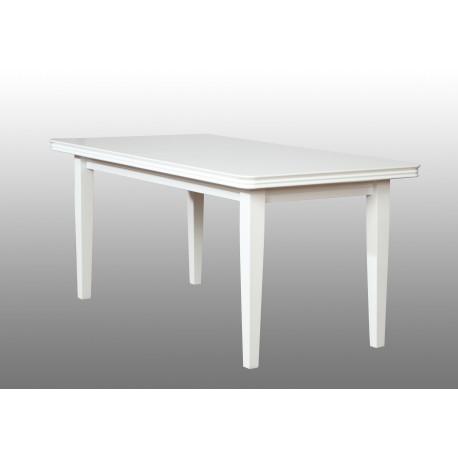 Stół biały wysoki połysk prostokąt 80x140 + 40